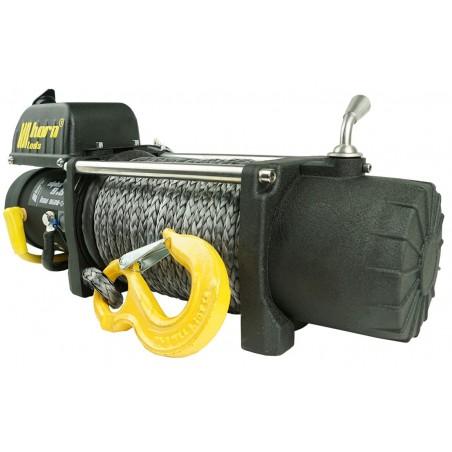 Treuil à câble 4,3 t Alpha 9,5 corde synthétique 12V Treuil électrique Horntools