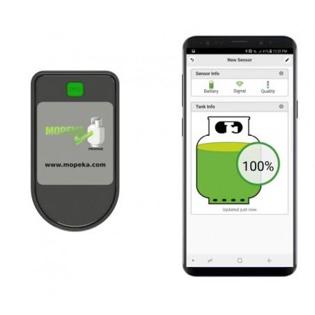 Bouteilles de gaz Indicateur de contenu Contrôle de niveau Bluetooth Mopeka