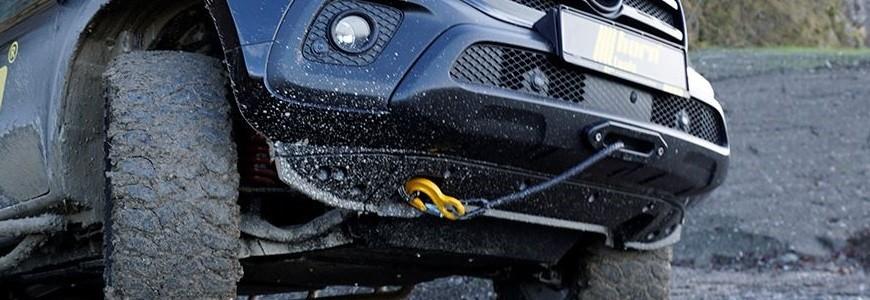 Treuils électriques pour la zone de chargement et l'avant de votre véhicule tout-terrain