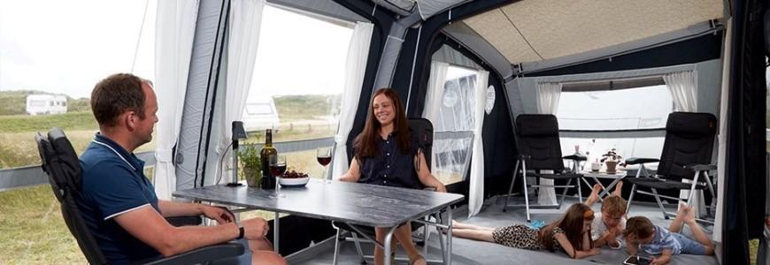 Auvents gonflables pour le camping-car ou la caravane